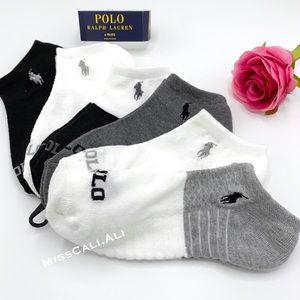 Polo Ralph Lauren Women's Socks - 6 PAIRS